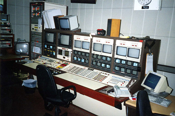 TVC news playout 1995